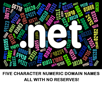 5 Character .net Numeric