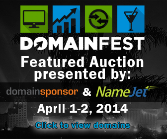 DomainFest Featured Auction
