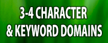 3-4 Character and Keyword Domains